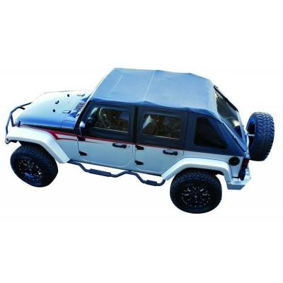 Rampage Products - Rampage 106035 Frameless Complete Trail Top Kit 07-18 JK Wrangler Unlimited 4 Dr