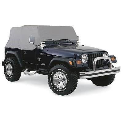 Rampage Products - Rampage 1263 Gray 4 Layer Cab Cover 2007-2016 Jeep JK Wrangler 2 Door