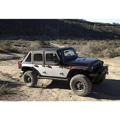 Rampage Products - Rampage 139835 Trailview Complete Frameless Soft Top Kit w/ Sunroof 2007-2018 JK