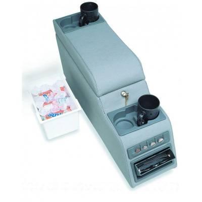 Rampage Products - Rampage 31515 Locking Center Console Denim Black 1976-1995 CJ & YJ Wrangler