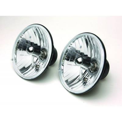 Rampage Products - Rampage 5089925 Halogen Headlight Conversion Kit 7-in Round Assemblies