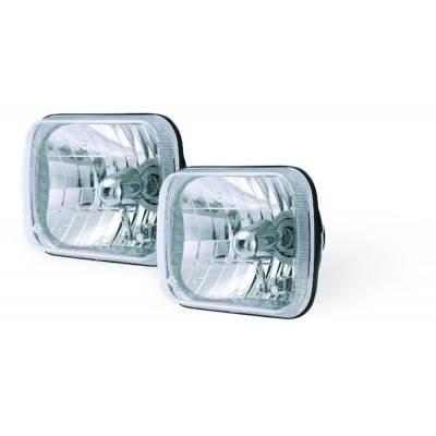 Rampage Products - Rampage 5089927 Halogen Headlight Conversion Kit 200mm Rectangular Assemblies