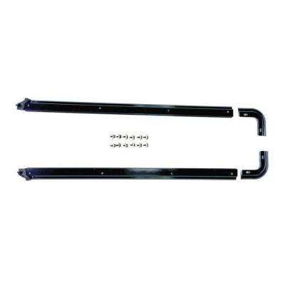 Rampage Products - Rampage 69997 Replacement Soft Top Hardware Tub Rail Kit 87-95 Jeep YJ Wrangler
