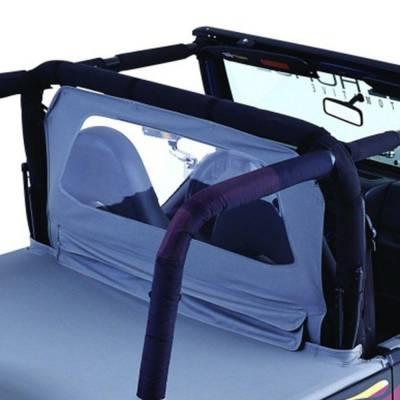Rampage Products - Rampage 769015 Denim Black Roll Bar Padding Full Kit 1997-2002 Jeep TJ Wrangler