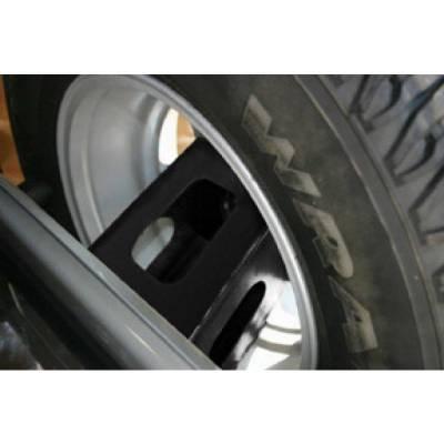 Rampage Products - Rampage 86610 Rear Tire Extender Mount Kit 2007-2018 Jeep JK Wrangler