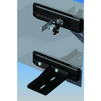 Rampage Products - Rampage 86612 High Lift Jack Mount 2007-2018 Jeep JK Wrangler