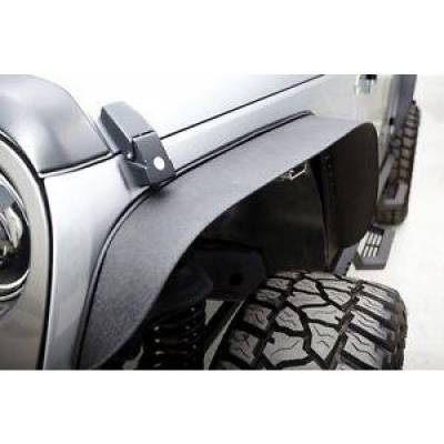 Rampage Products - Rampage 867981 Trail Flares Front and Rear Steel Fenders 2007-2018 Jeep Wrangler