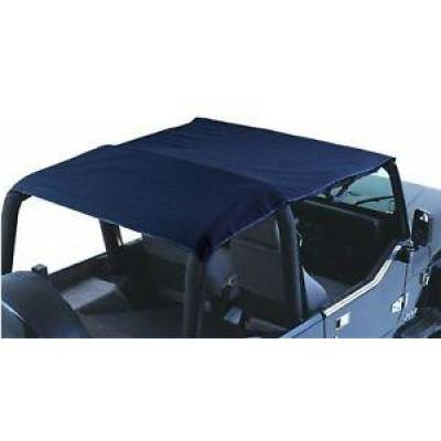 Rampage Products - Rampage 94015 Combo Sun Brief/Safari Top Black 1992-1995 Jeep YJ Wrangler