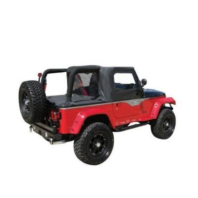 Rampage Products - Rampage 994015 Black Cab Top Enclosure & Tonneau Cover 97-02 Jeep TJ Wrangler