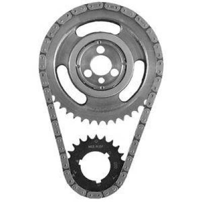 Valvetrain & Camshaft Components - Timing Chain Sets - SA Gear - Dynagear - SA GEAR 78100TR Timing Chain Set Chevy V8 SBC .250 Double Roller w Thrust Bearing