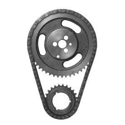 Valvetrain & Camshaft Components - Timing Chain Sets - SA Gear - Dynagear - .250 Double Roller Timing Chain Set Mopar Chrysler Dodge 383 426W 440 3 Bolt Cam
