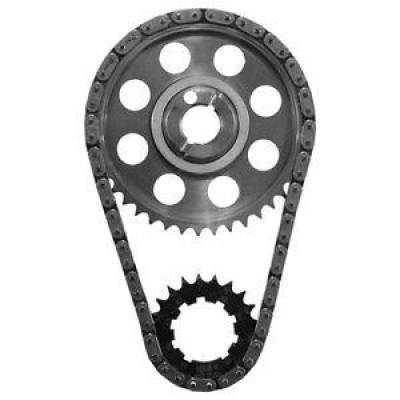 "SA Gear - Dynagear - SA GEAR 78520T-9R Billet .250"" Double Roller Timing Chain Set SBF 302 351W 63-71"