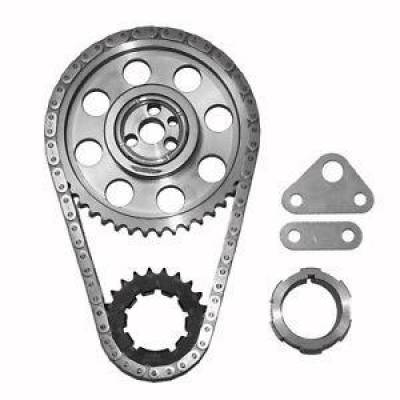 "SA Gear - Dynagear - SA GEAR 78533T-9R Chevy Billet Timing Set 4.8L 5.7L LS1 LS6 .250"" Double Roller"