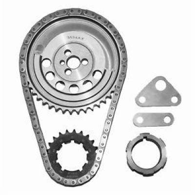 """Valvetrain & Camshaft Components - Timing Chain Sets - SA Gear - Dynagear - SA GEAR 78534T-9R Chevy Billet Timing Chain Set 5.3L 6.0L LS2 .250"""" Double Roller"""