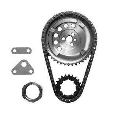 "SA Gear - Dynagear - SA GEAR 78536T-9R Billet Timing Chain Set Chevy LS3 .250"" Double Roller 3 Bolt"