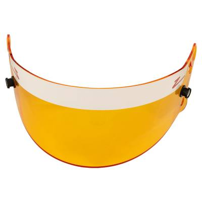 Safety & Seats - Helmet Shields & Accessories - Zamp - ZAMP HASZ20AM Z-20 Series Amber Helmet Shield (Snell SA Only) Z-Sports IMCA USRA