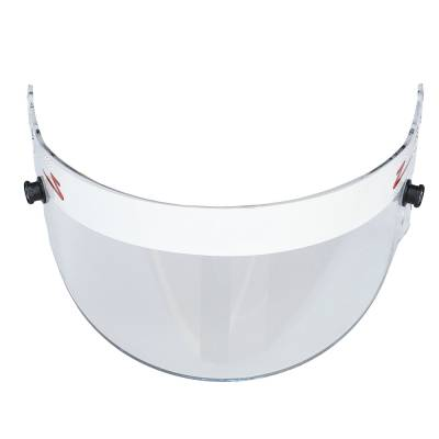 Safety & Seats - Helmet Shields & Accessories - Zamp - ZAMP HASZ20CLAF Z-20 Series Clear Helmet Shield (Snell SA Only) Z-Sports IMCA USRA WoO