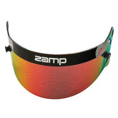Safety & Seats - Helmet Shields & Accessories - Zamp - ZAMP HASZ20RP Z-20 Series Red Prizm Chrome Shield (Snell SA Only) Z-Sports
