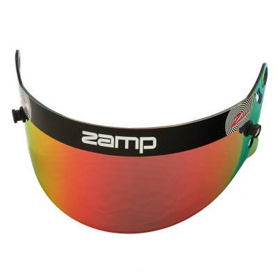 Zamp - ZAMP HASZ20RP Z-20 Series Red Prizm Chrome Shield (Snell SA Only) Z-Sports