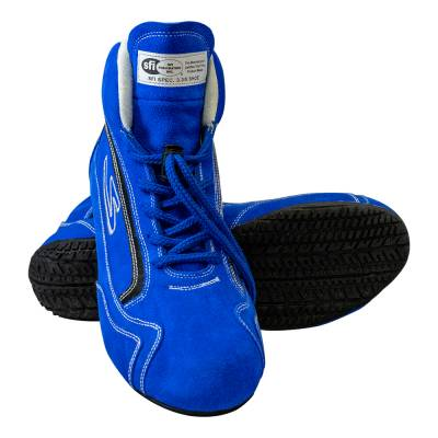 Zamp - ZAMP ZR-30 SFI 3.3/5 Race Shoe Blue Size 10 RS00100410