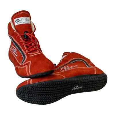 Zamp - ZAMP ZR-30 SFI 3.3/5 Race Shoe Red Size 10 RS00100210