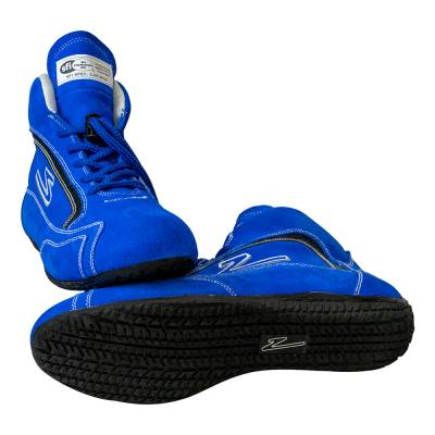 Zamp - ZAMP ZR-30 SFI 3.3/5 Race Shoe Blue Size 12 RS00100412