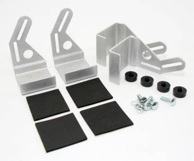 """Assault Racing Products - 12"""" or 16"""" Cooling Fan Mounting Bracket Kit For 19"""" Tall Crossflow Radiator"""