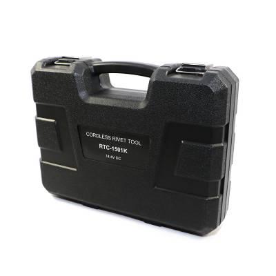 """Assault Racing Products - 14.4 Volt Li-ion Cordless Puller Rivet Gun Tool Set 1/8 3/32 5/32 3/16"""" Rivets - Image 4"""