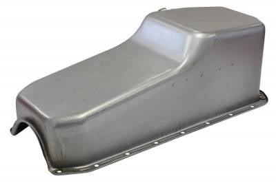 Assault Racing Products A9398 for Oldsmobile Chrome Drag Style 8qt Oil Pan 330 350 400 425 455 Olds