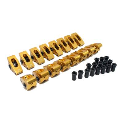 Assault Racing Products - 289 302 351W 5.0 Small Block Ford 1.7 Ratio Aluminum Roller Rocker Arms 7/16 SBF