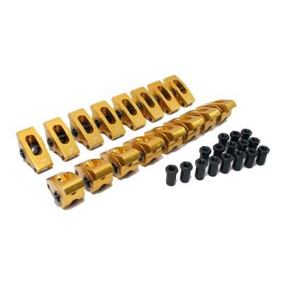 Assault Racing Products - 289 302 351W 5.0 Small Block SBF Ford Aluminum Roller Rocker Arms 7/16 1.6 Ratio