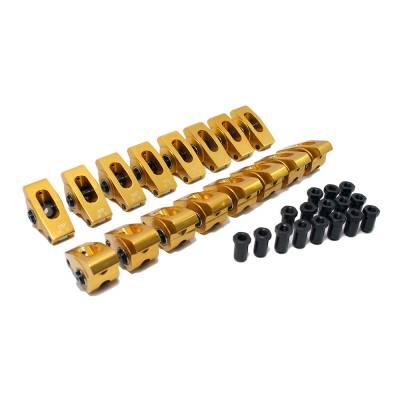 "Valvetrain & Camshaft Components - Rocker Arms - Assault Racing Products - 396 427 454 BBC Big Block Chevy Aluminum Roller Rocker Arms 1.7 Ratio 7/16"" Stud"