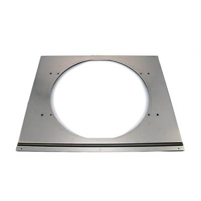 """Cooling - Electric Fans & Components - Assault Racing Products - Aluminum 16"""" Electric Fan Shroud - Universal Fits 19x28"""" Crossflow Radiator"""