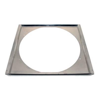"Cooling - Electric Fans & Components - Assault Racing Products - Aluminum 16"" Electric Fan Shroud - Universal Fits 24"" Crossflow Radiators"