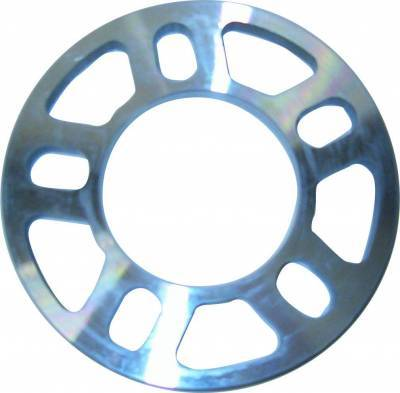 Circle Track - Tire Tools & Accessories - Assault Racing Products - 1/2 Inch Universal Billet Aluminum Wheel Spacer Stock Car Modified IMCA USRA UMP