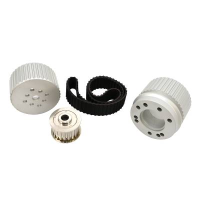 Cooling - Pulleys, Belts & Kits - Assault Racing Products - BBC Big Block Chevy Billet Aluminum Gilmer Belt Drive Pulley Kit 396 427 454