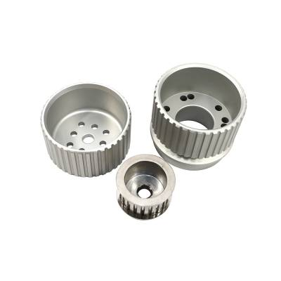 Cooling - Pulleys, Belts & Kits - Assault Racing Products - BBF Big Block Ford Billet Aluminum Gilmer Belt Drive Pulley Kit 429 and 460