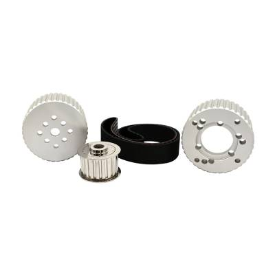 Cooling - Pulleys, Belts & Kits - Assault Racing Products - BBM Big Block Mopar Billet Aluminum Gilmer Belt Drive Pulley Kit 383 400 413 440