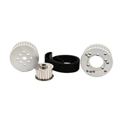 Cooling - Pulleys, Belts & Kits - Assault Racing Products - BBM Big Block Mopar Billet Aluminum Gilmer Belt Drive Pulley Kit 383 400 413 440