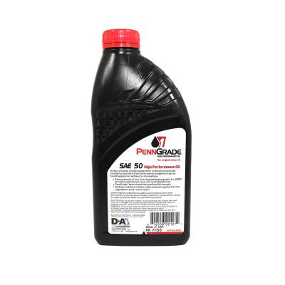 Oil, Fuel, Fluids, & Cleaners - Engine Oil - PennGrade Motor Oil - Penn Grade50W Racing Oil