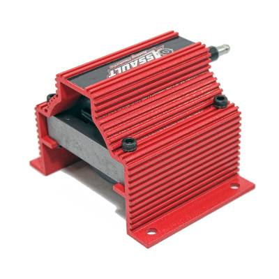 Ignition & Electrical - Ignition Coils - Assault Racing Products - Assault Racing Anodized RED High Spark Output Low Resistance Ignition Super Coil