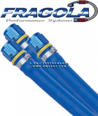 "Fragola - Fragola 860004 1/4"" Blue Push Lock Race Hose - BULK-PER FOOT IMCA USRA NHRA"