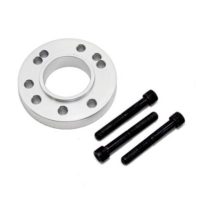 Cooling - Pulleys, Belts & Kits - Assault Racing Products - Billet Chevy SBC 305 327 350 400 BBC 396 427 454 Ford Gilmer Crank Pulley Spacer