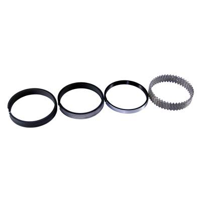 "Pistons & Rings - Piston Rings - Speed Pro - 4.025"" Bore 1/16""-3/16"" Plasma-Moly File fit piston rings."