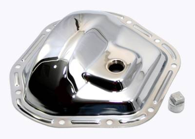 Transmissions, Rearends, & Gears  - Differential Covers - Assault Racing Products - Dana 60 D60 Axle Chrome Plated Steel Differential Cover Chevy Ford Dodge 10 Bolt
