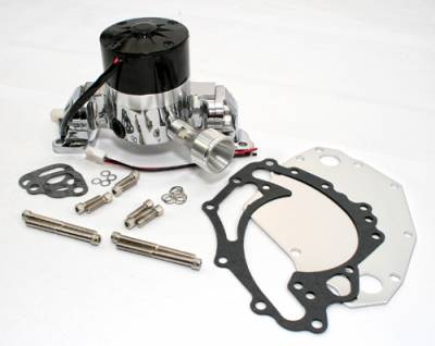 Cooling - Water Pumps - Assault Racing Products - Ford 351C 351M Cleveland 400 High Volume HV Performance Electric Water Pump