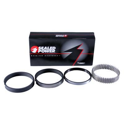 "Pistons & Rings - Piston Rings - Speed Pro - 4.60"" Bore 5/64""-3/16"" Cast standard fit piston rings."