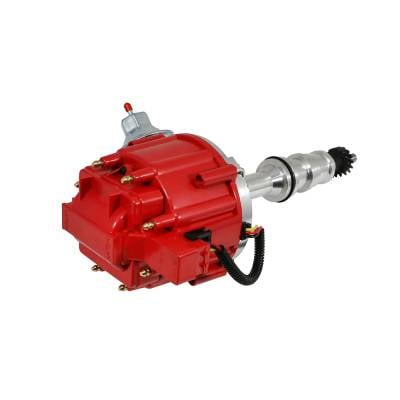 Distributors & Components - Distributors - Assault Racing Products - Ford BBF FE V8 65K One Wire HEI Distributor 352 360 390 406 427 428 Red Cap