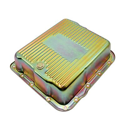 Transmission & Drivetrain - Transmission Oil Pan & Components - Assault Racing Products - GM 700R4 4L60E Zinc Deep Transmission Pan Extra Cap 4L60 4L65E Automatic Trans