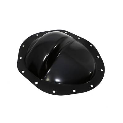 "Transmissions, Rearends, & Gears  - Differential Covers - Assault Racing Products - GM Chevy Black Steel 14 Bolt 9.5"" Ring Gear Rear Differential Truck Cover 2WD"